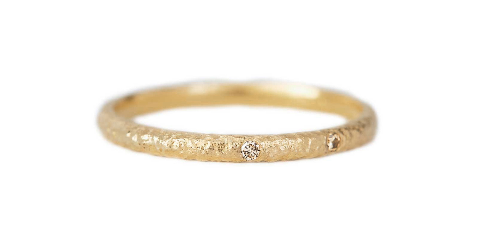 Wide Scattered Eternity Ring