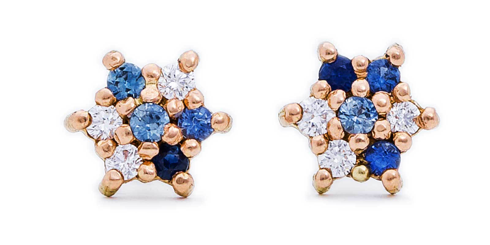 Small Studs – 18ct Rose Gold