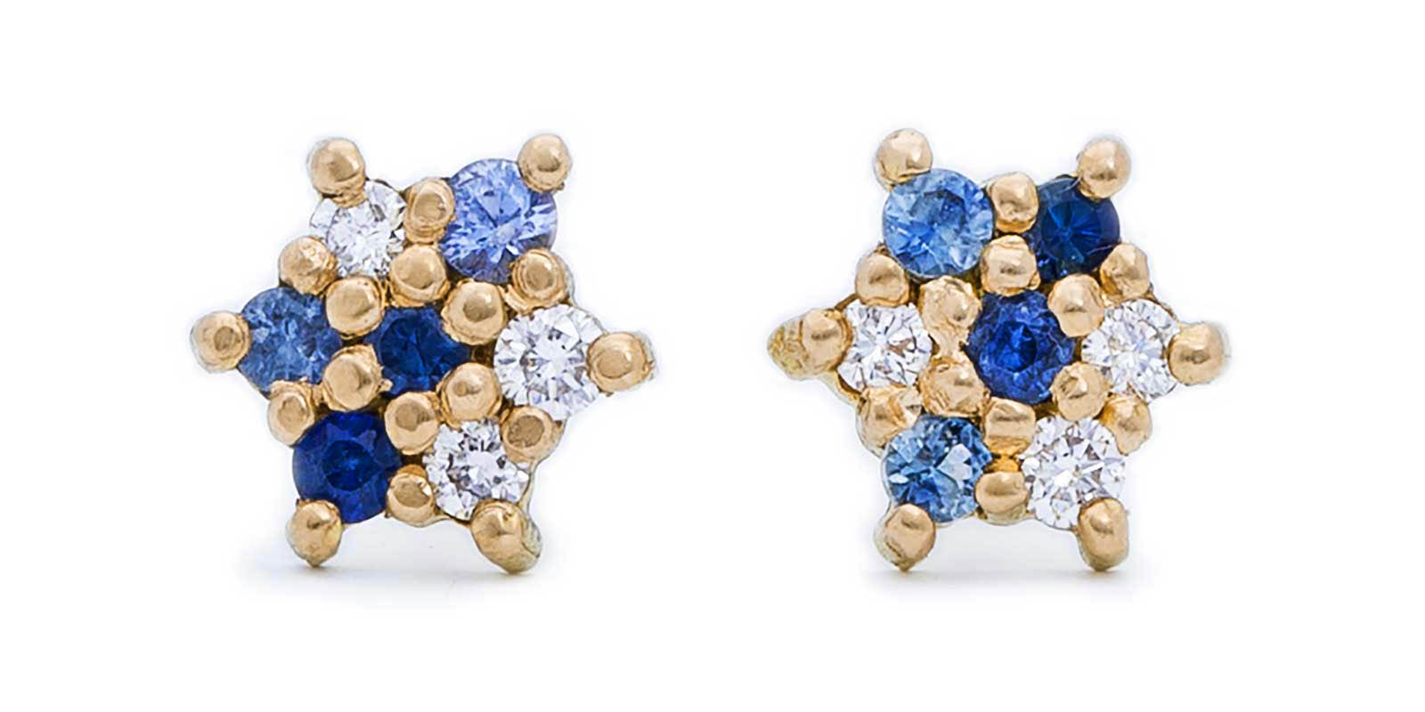 Small Studs – 18ct Yellow Gold