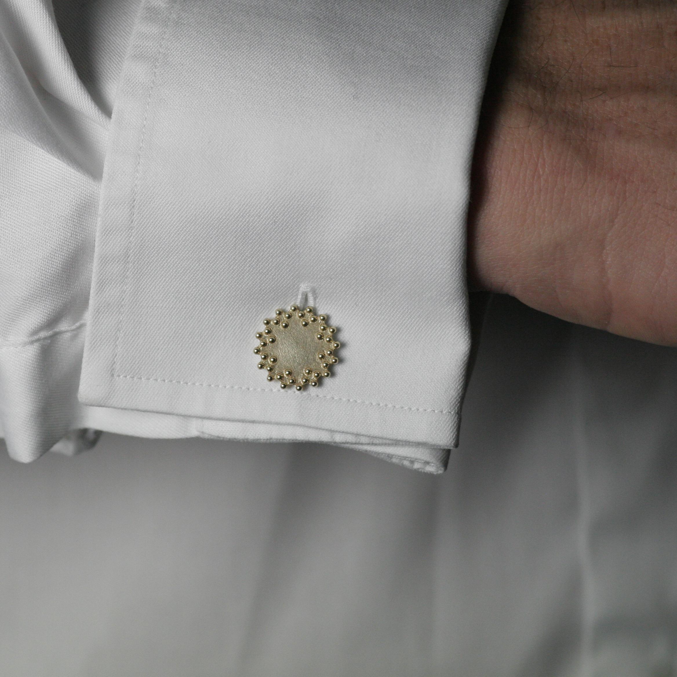 Savoy Gold Cufflinks