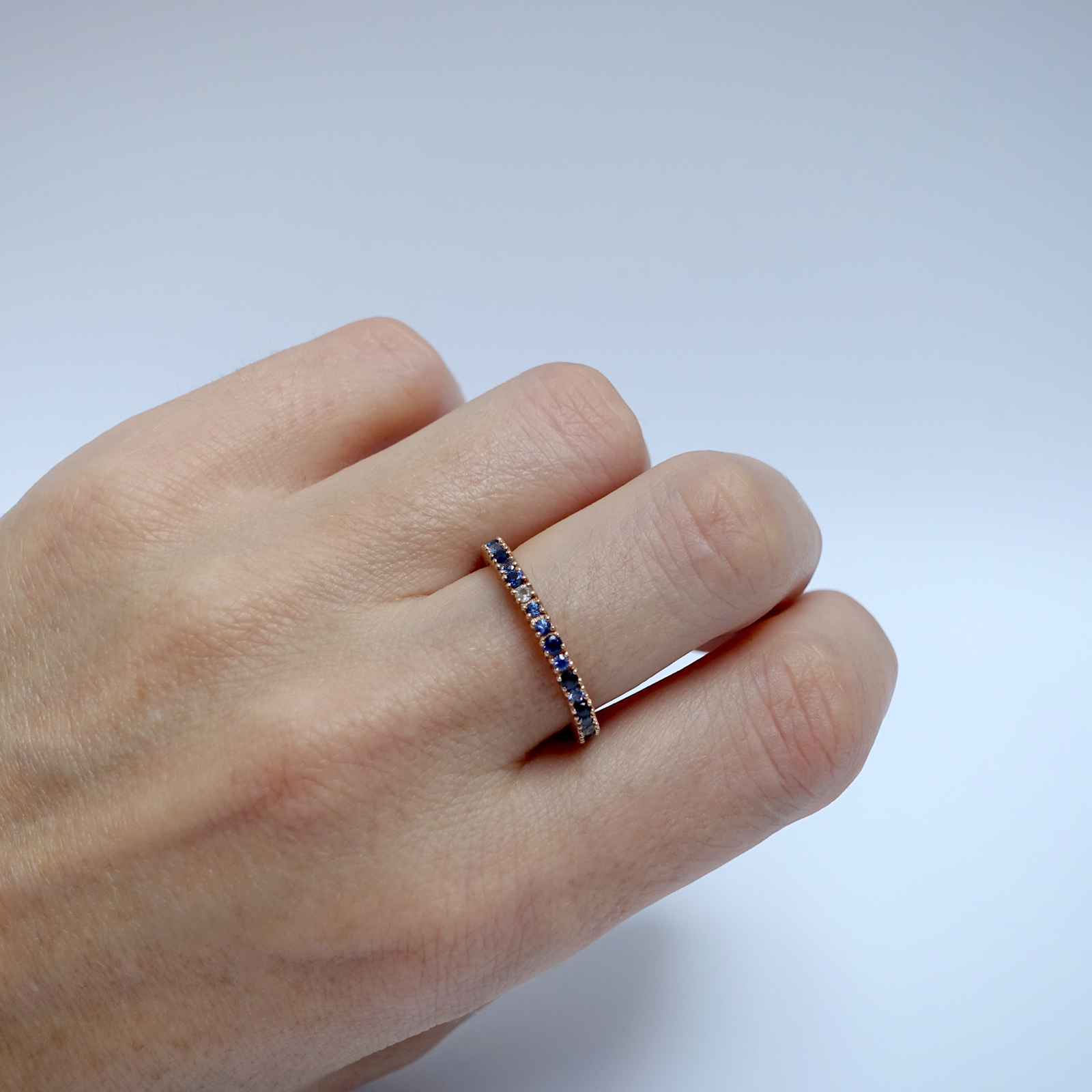 Full Eternity Ring – 18ct Rose Gold