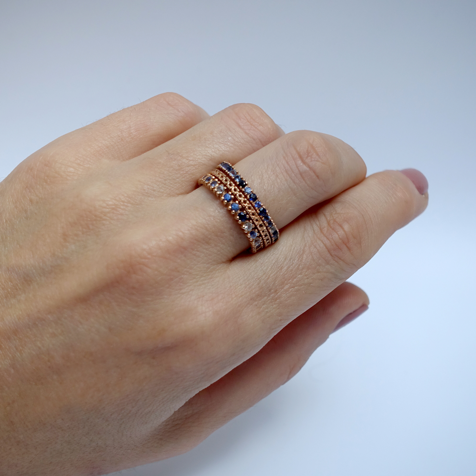 Full Eternity Ring – 18ct Rose Gold