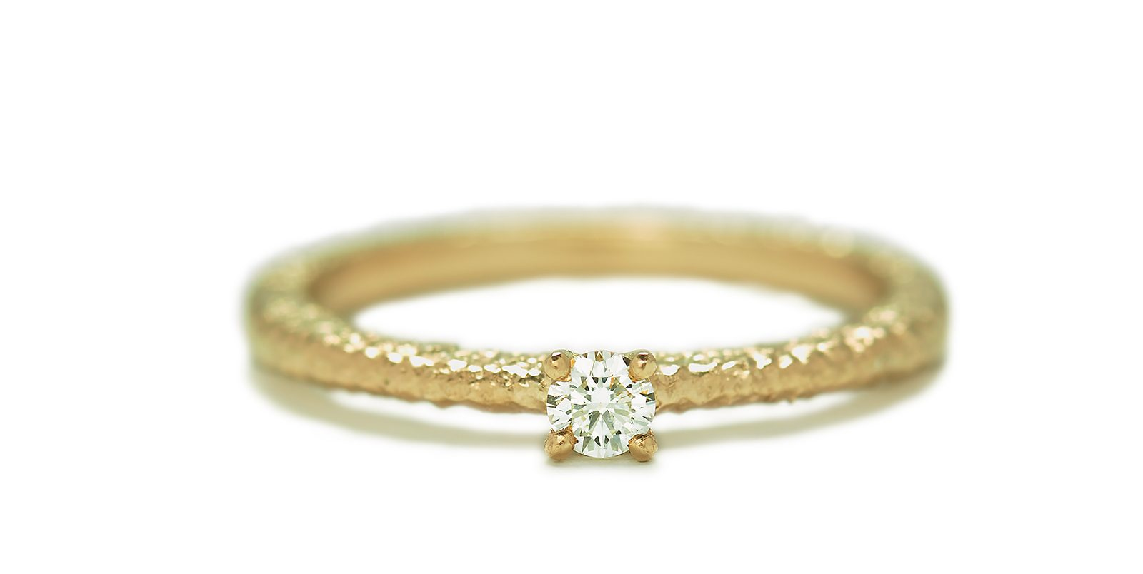 Solitaire Ring, 3mm