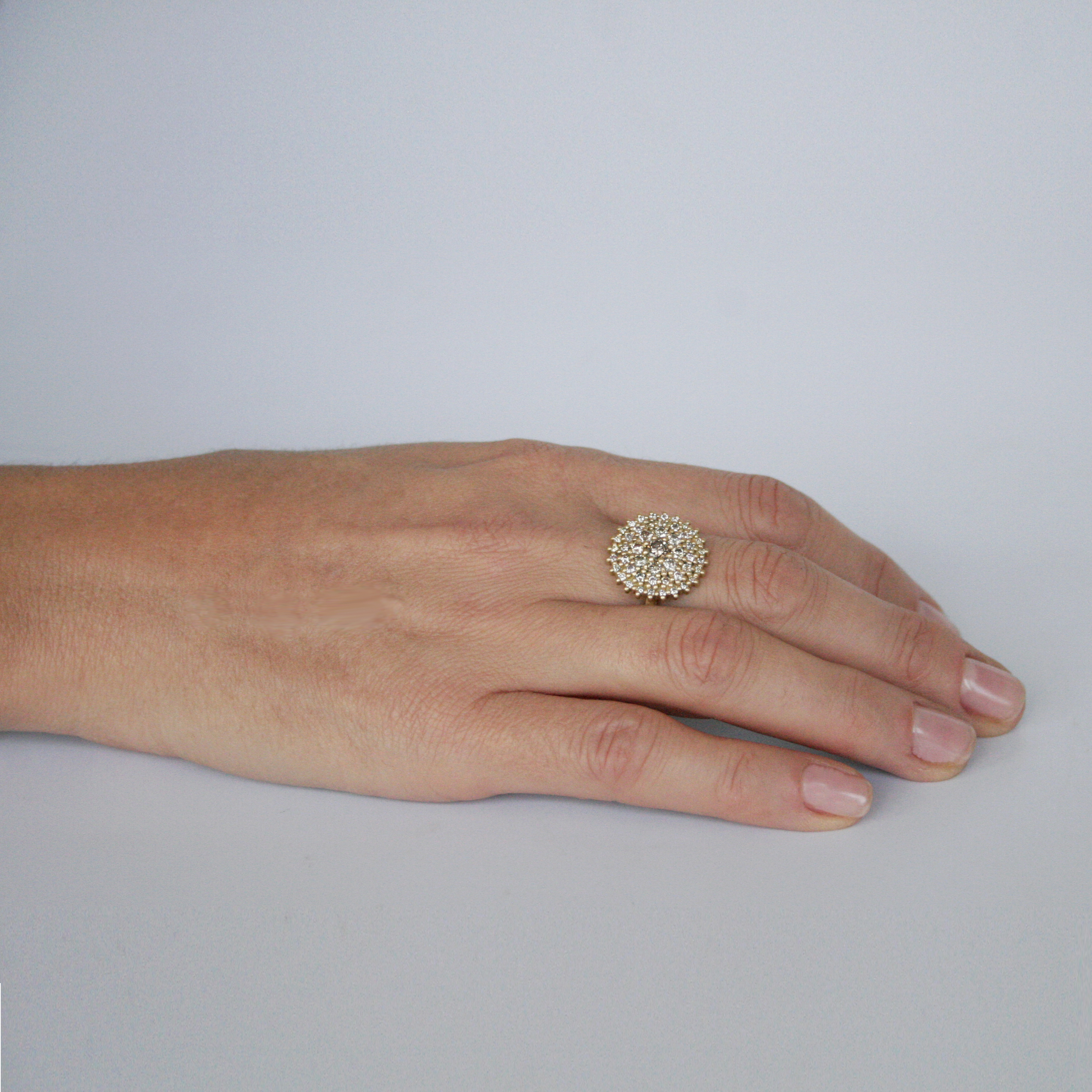 Graduated Cocktail Ring