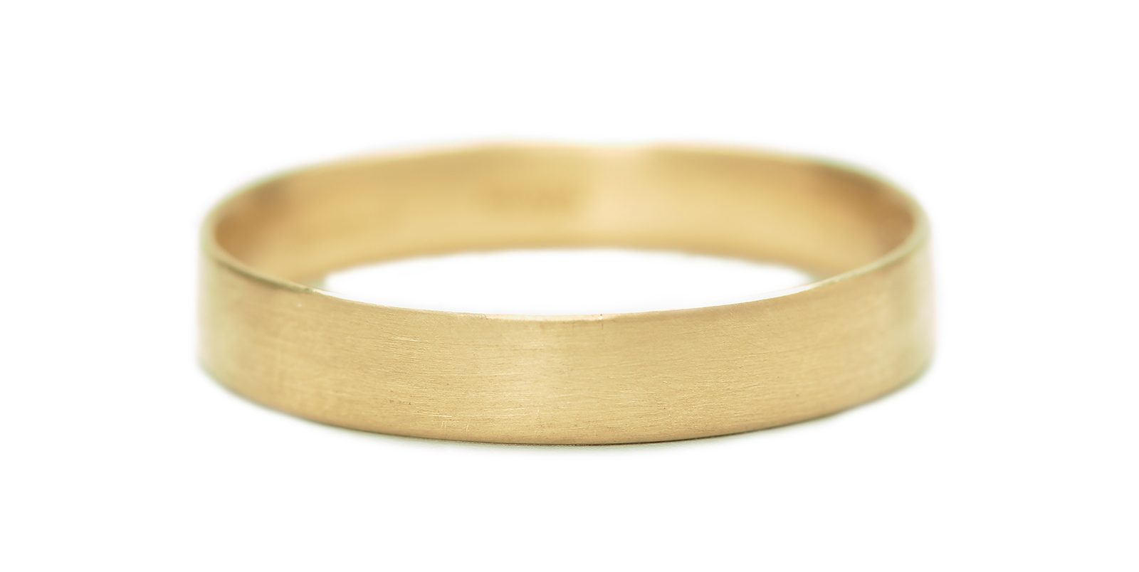 Flat Ring, Slim 4mm
