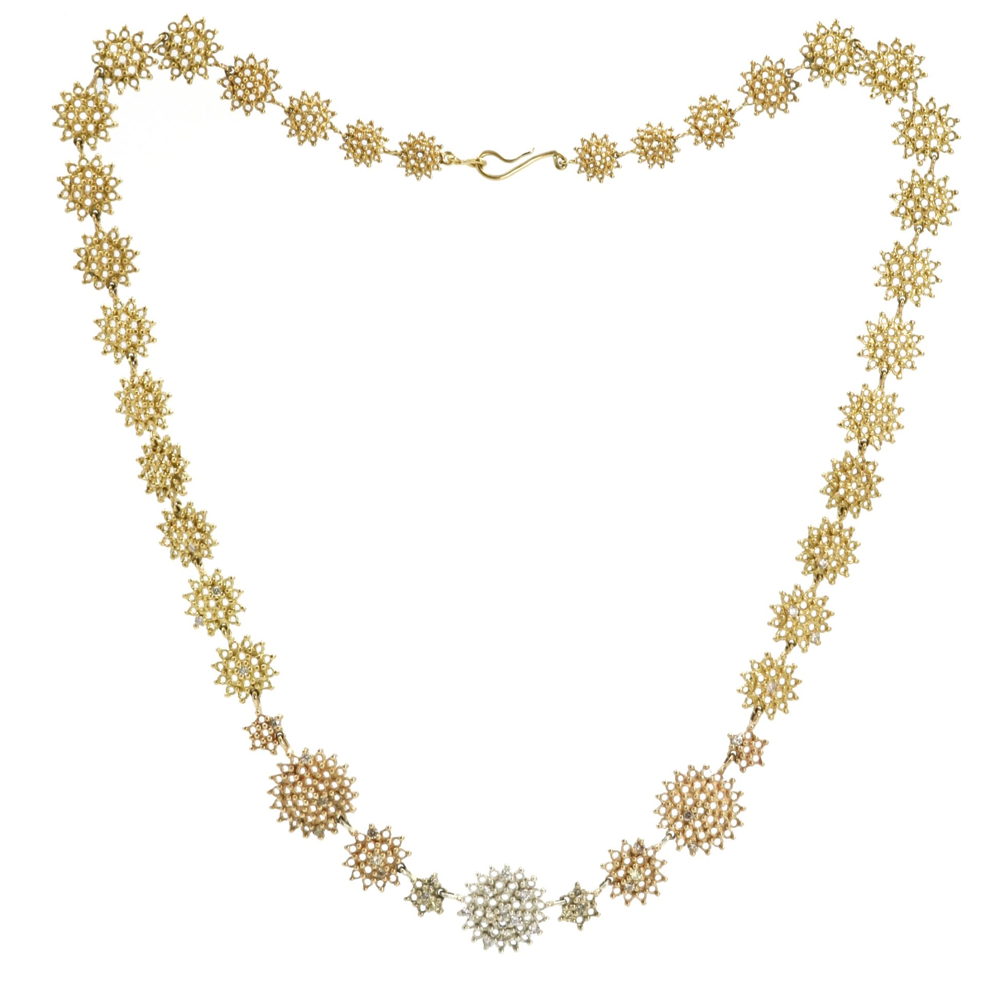 Graduated Gold Necklace