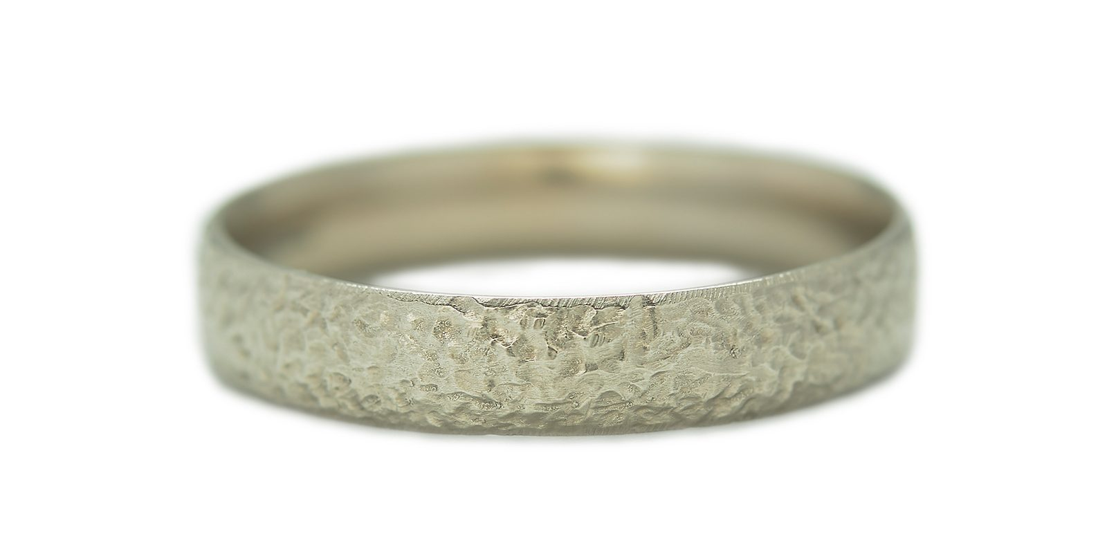 Textured Ring, Slim 4mm