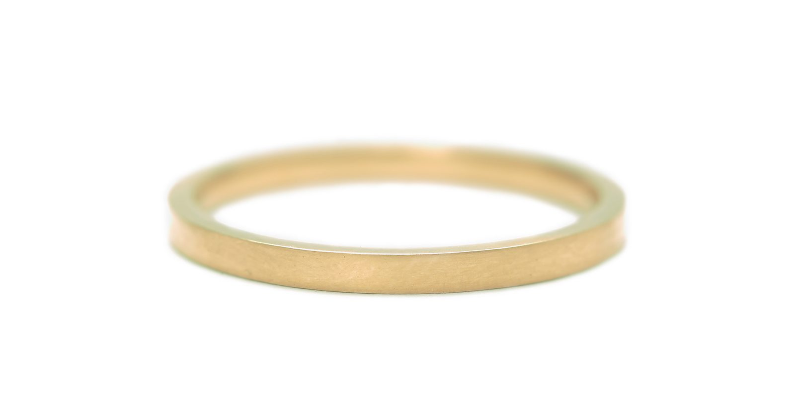 Comfort Fit 18ct Yellow Gold Wedding Band 2mm