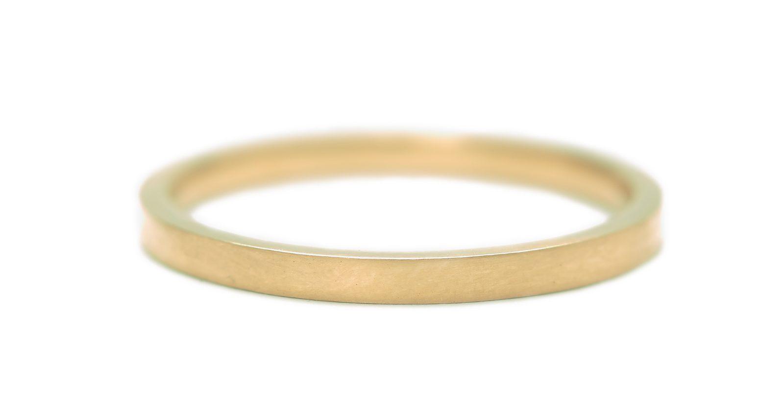 Flat Ring, Slim 2mm