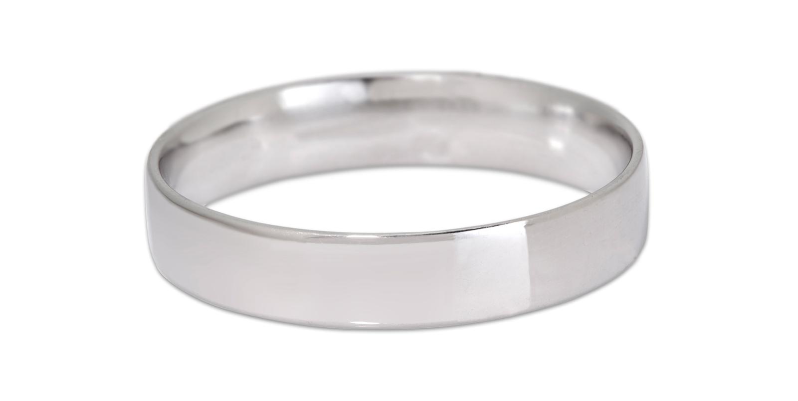 Flat Ring, Slim 4mm