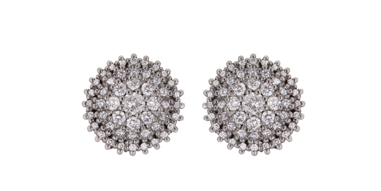 Sophie's Spectacular Graduated Diamond Stud Earrings