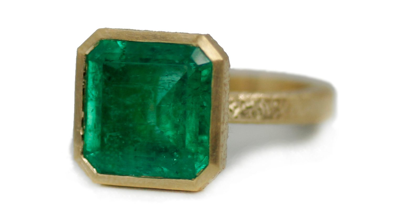 Abra's Emerald Cocktail Ring