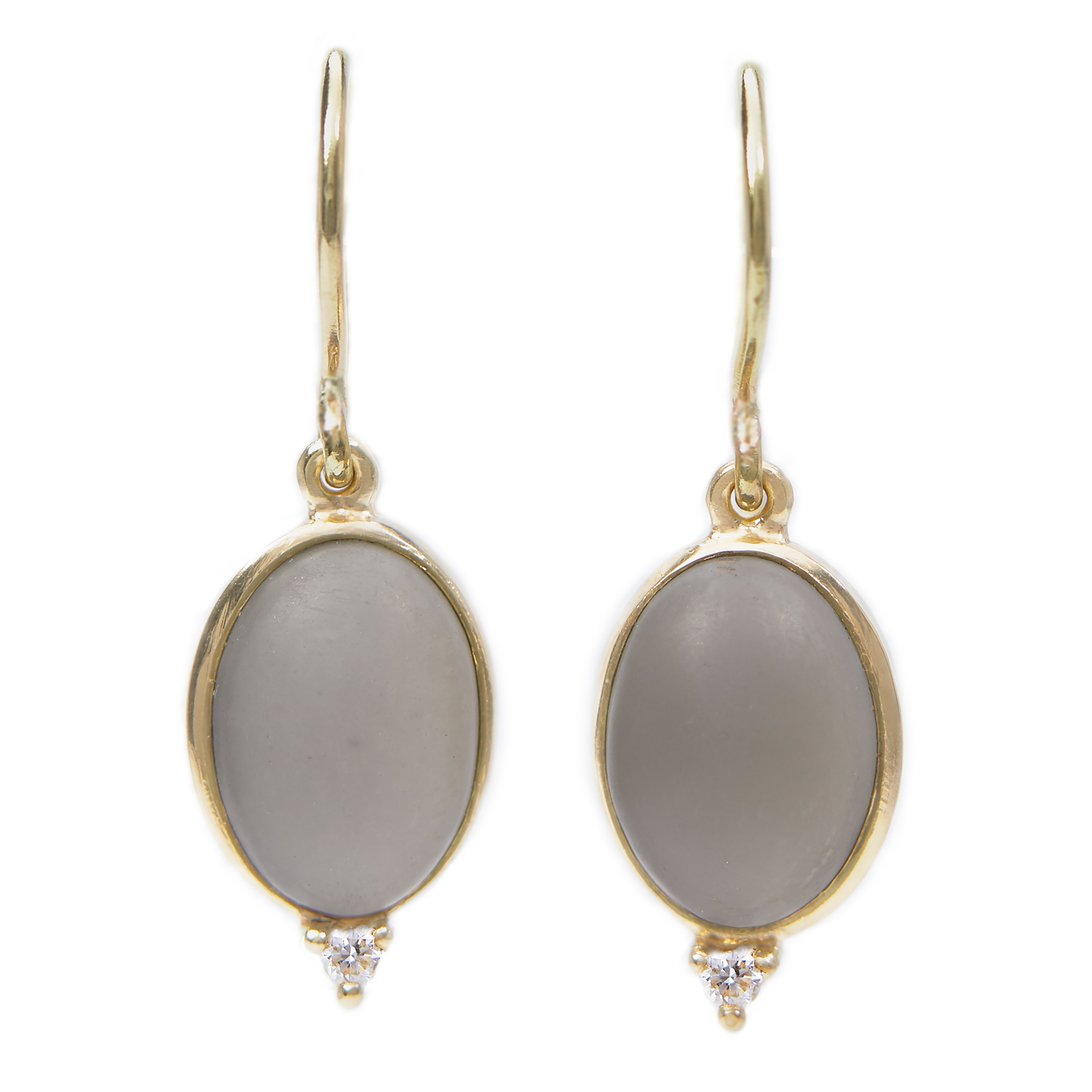 Moonstone Drop Earring