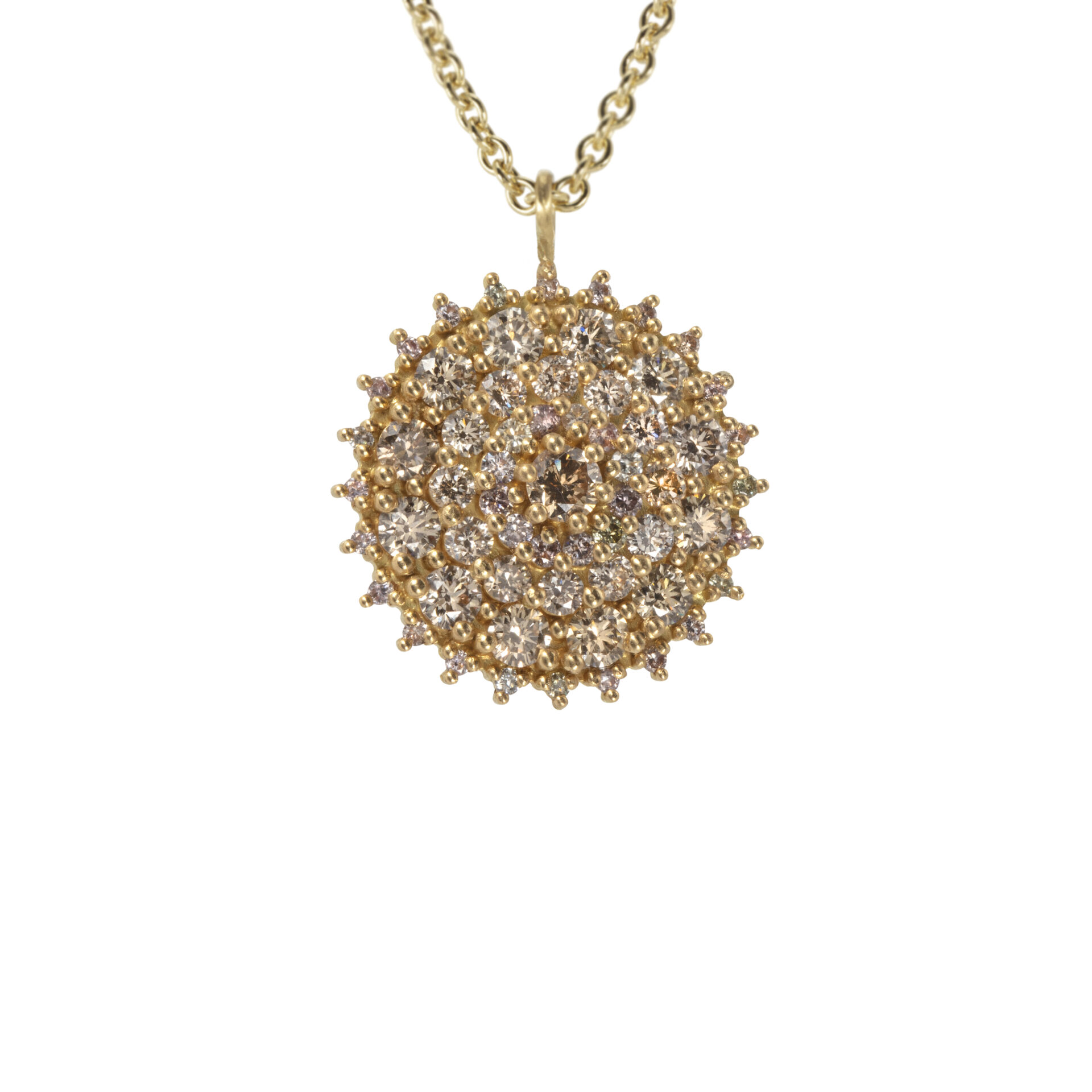 Kathrine 18ct Gold and Diamond Chandelier Pendant