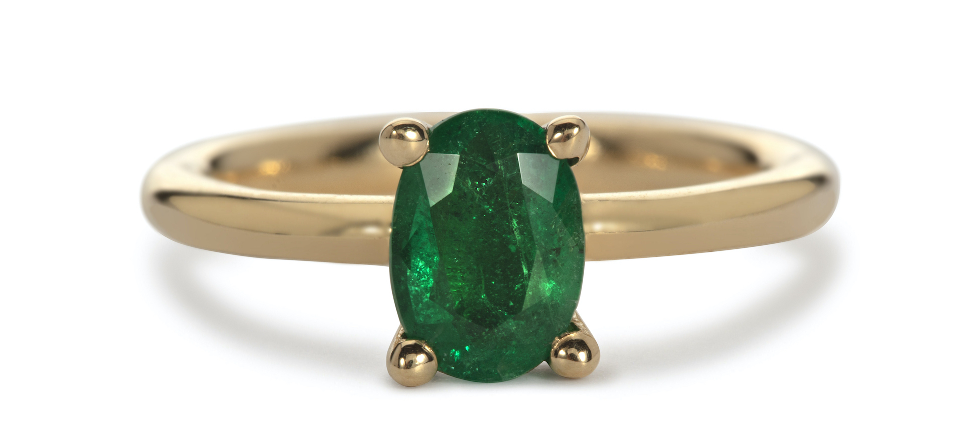 Lorna's Oval Emerald Ring