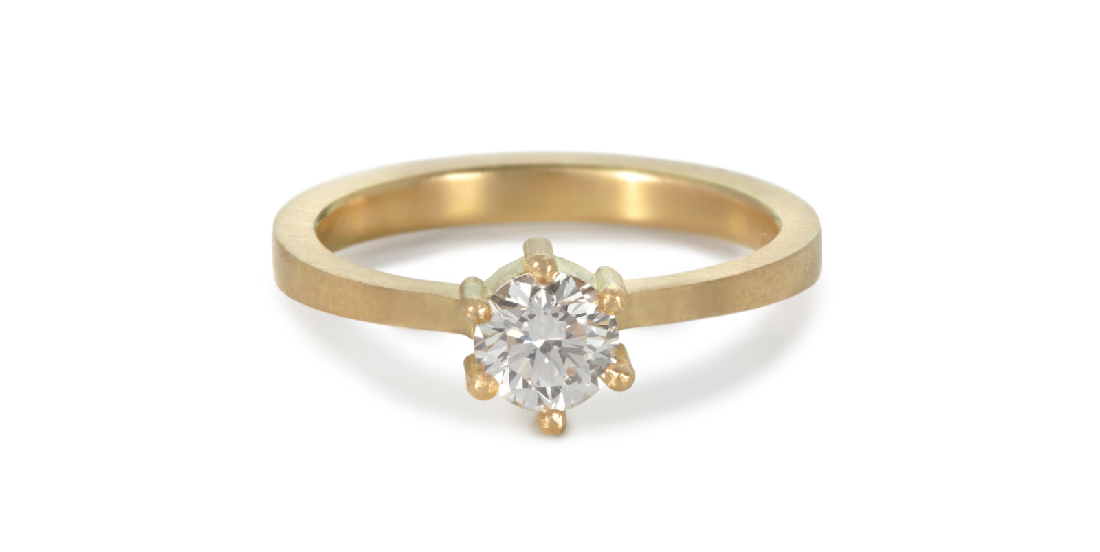 Kiss Diamond Engagement Ring .5ct