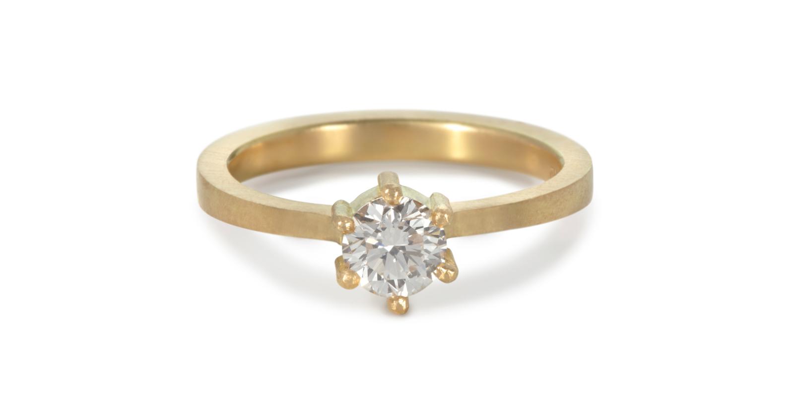 Kiss Diamond Engagement Ring .5ct