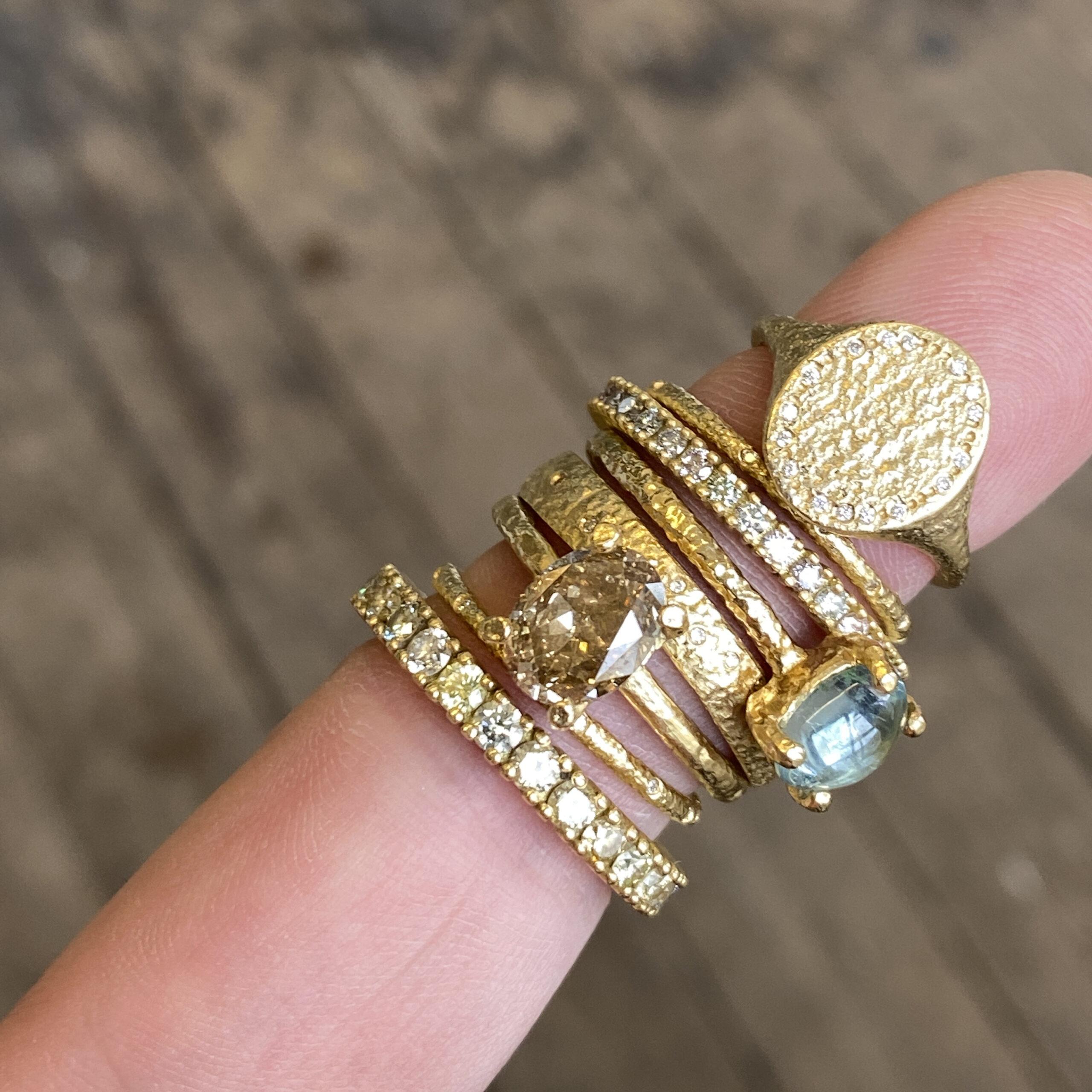 Worn Diamond Eternity Ring 1.75mm