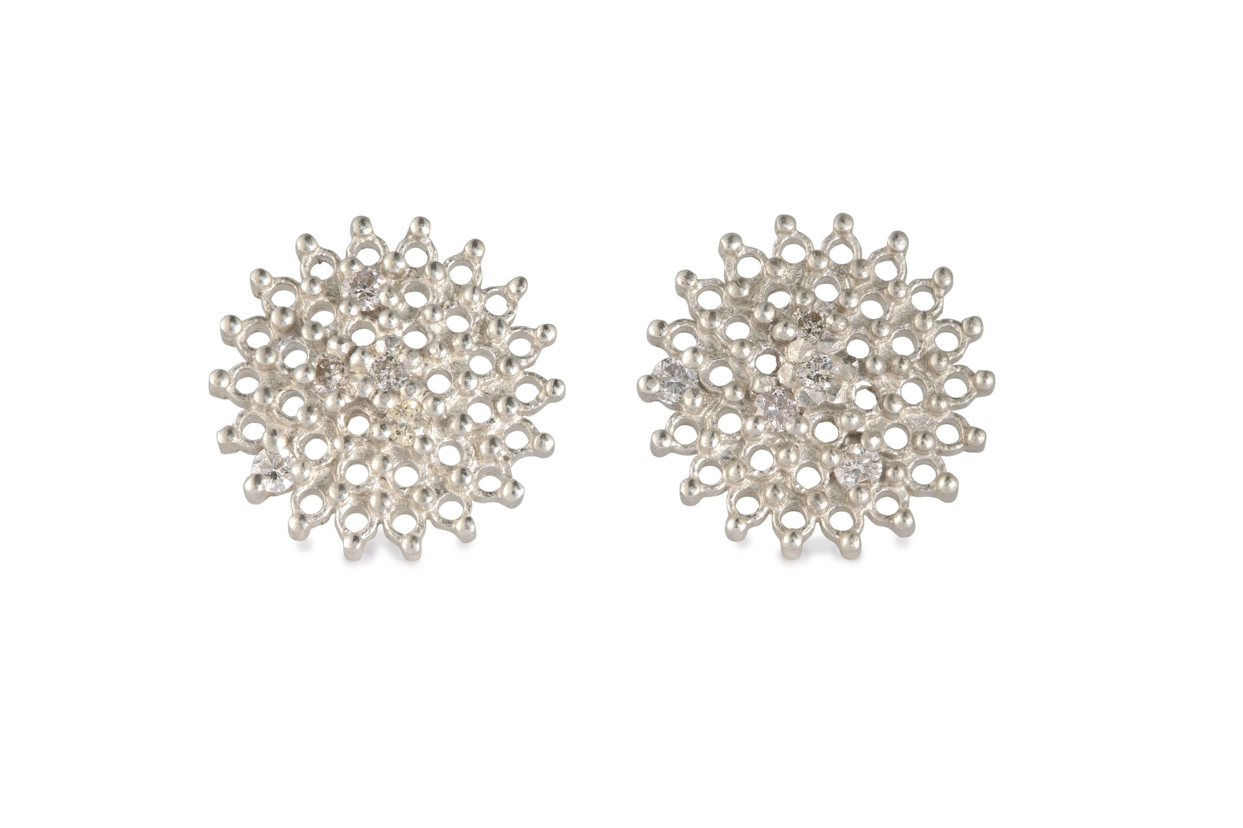 Lets Get Lost Day & Night Diamond Drop Earrings
