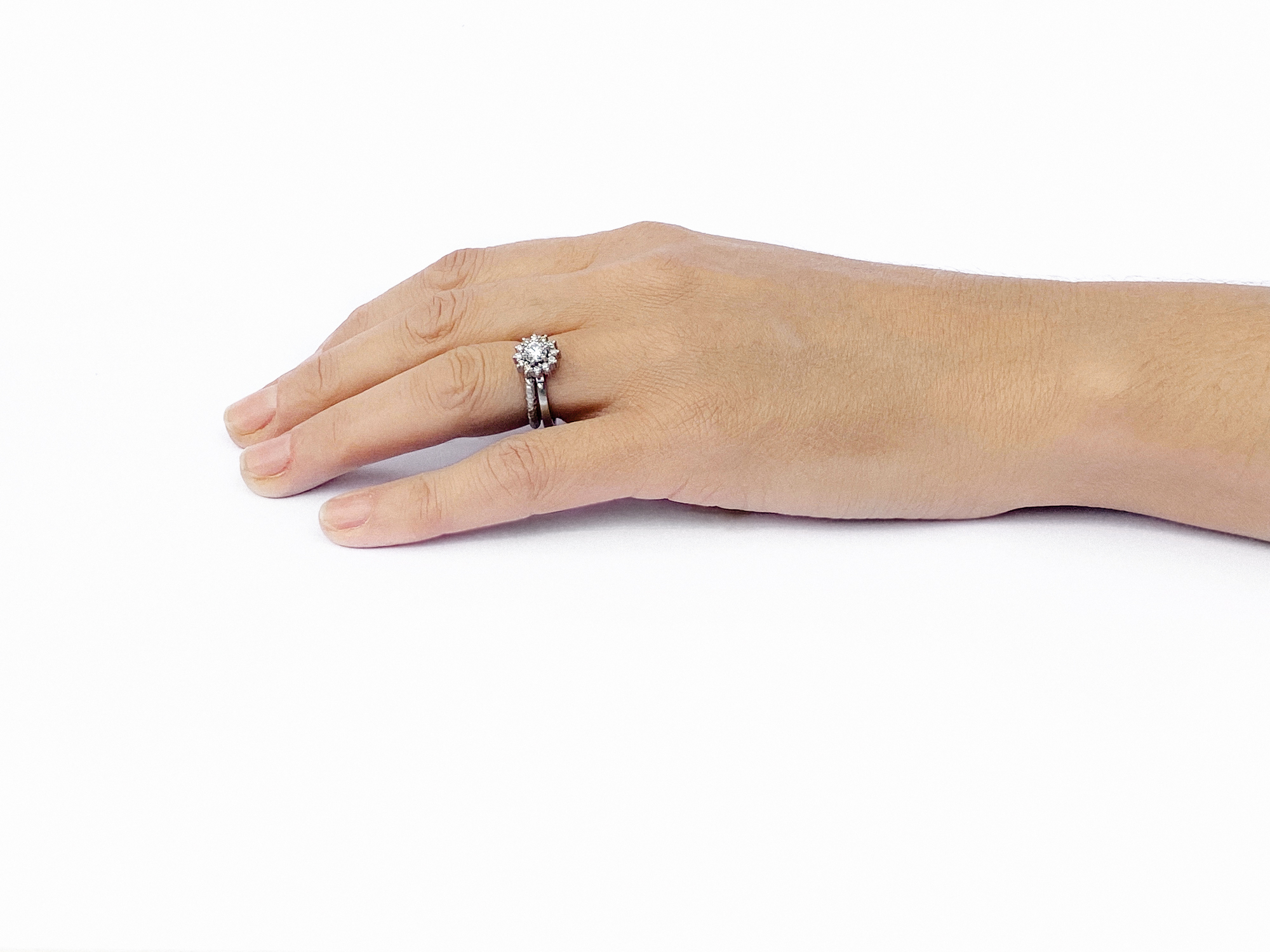 Juliet Platinum Diamond Engagement Ring