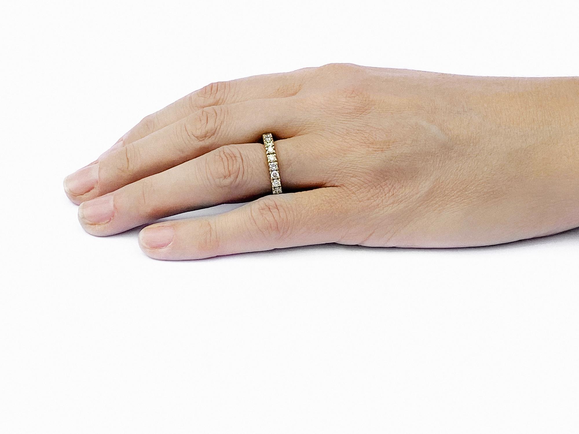 Worn Diamond Eternity Ring 2.5mm