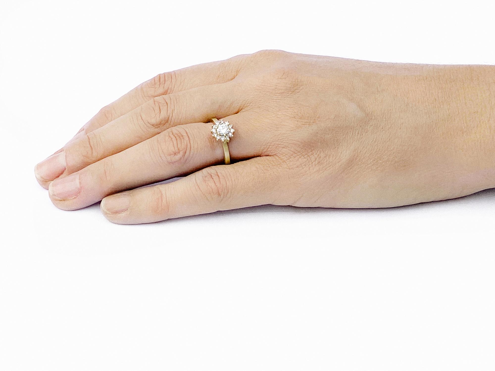 Juliet Pink Diamond Engagement Ring