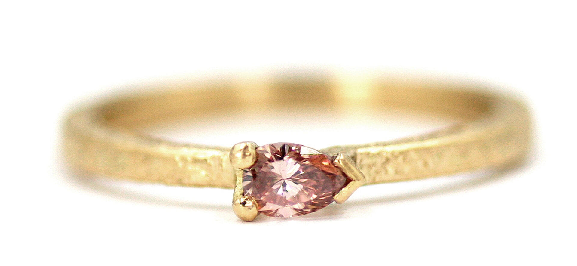 Claire's Pink Diamond Ring
