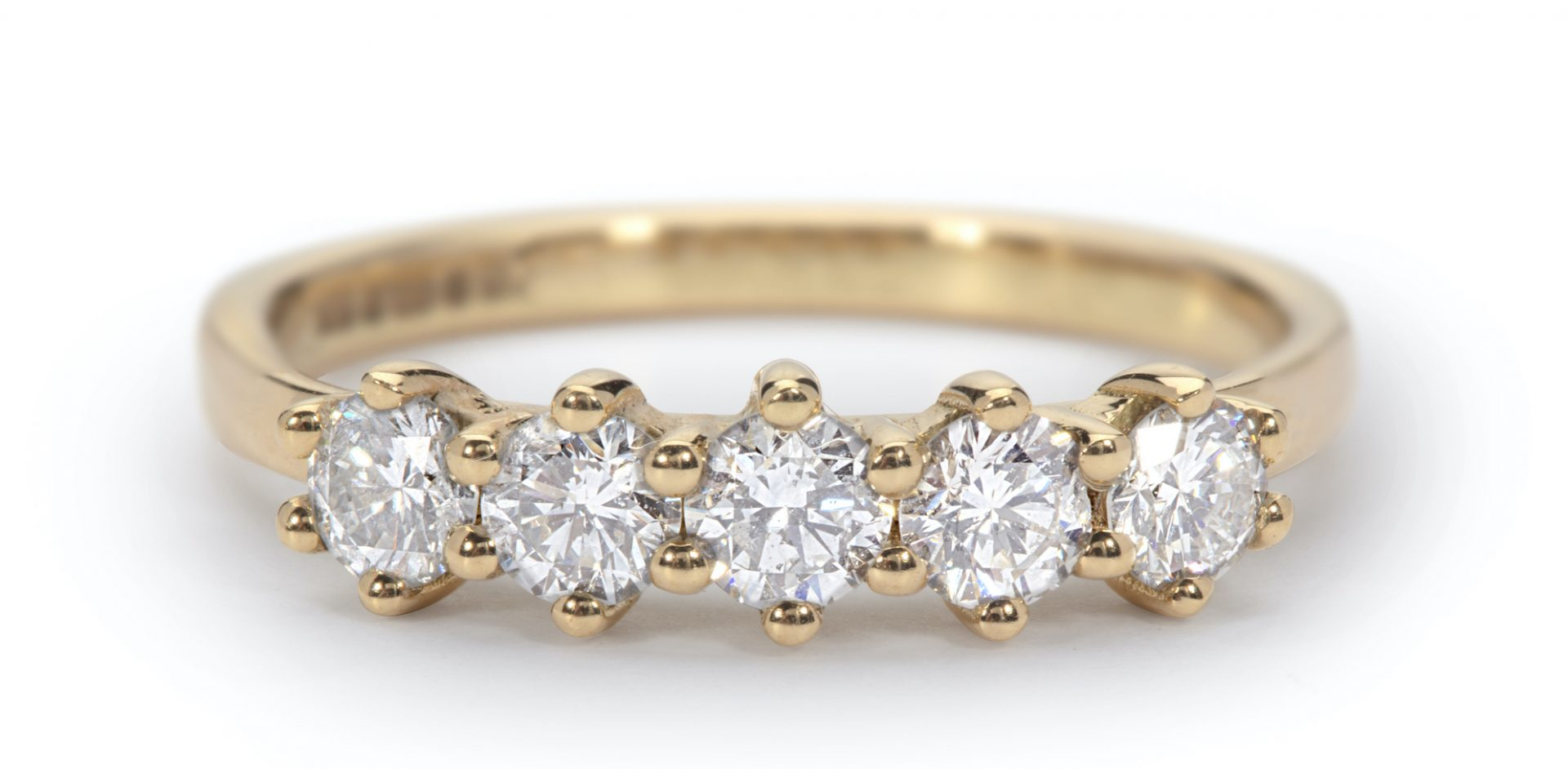 Jane's Five Stone Eternity Ring