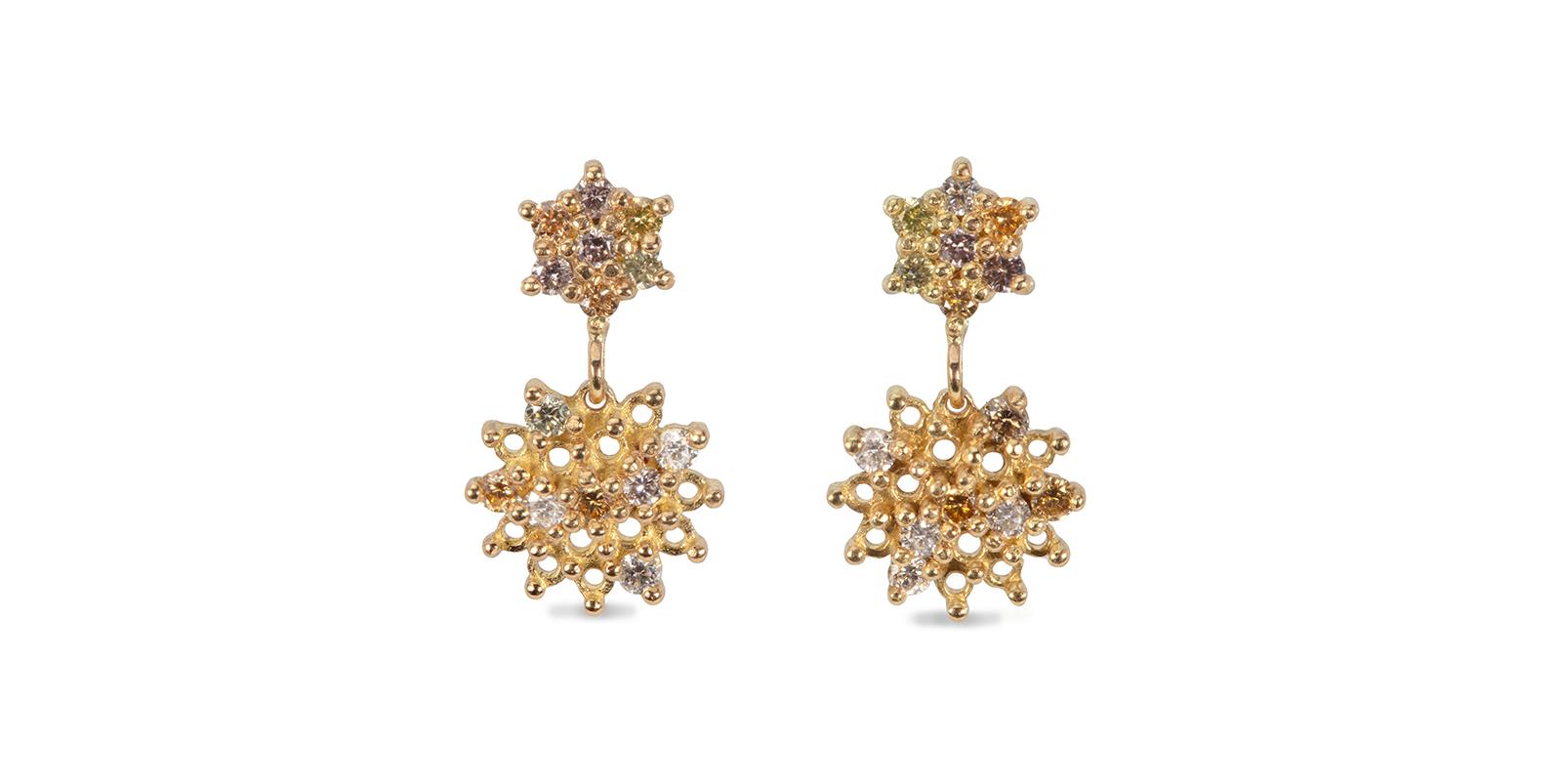 Lets Get Lost Diamond Drop Earrings