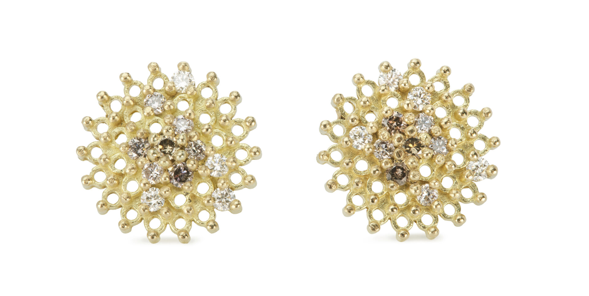 Autumn Diamond Stud Earrings
