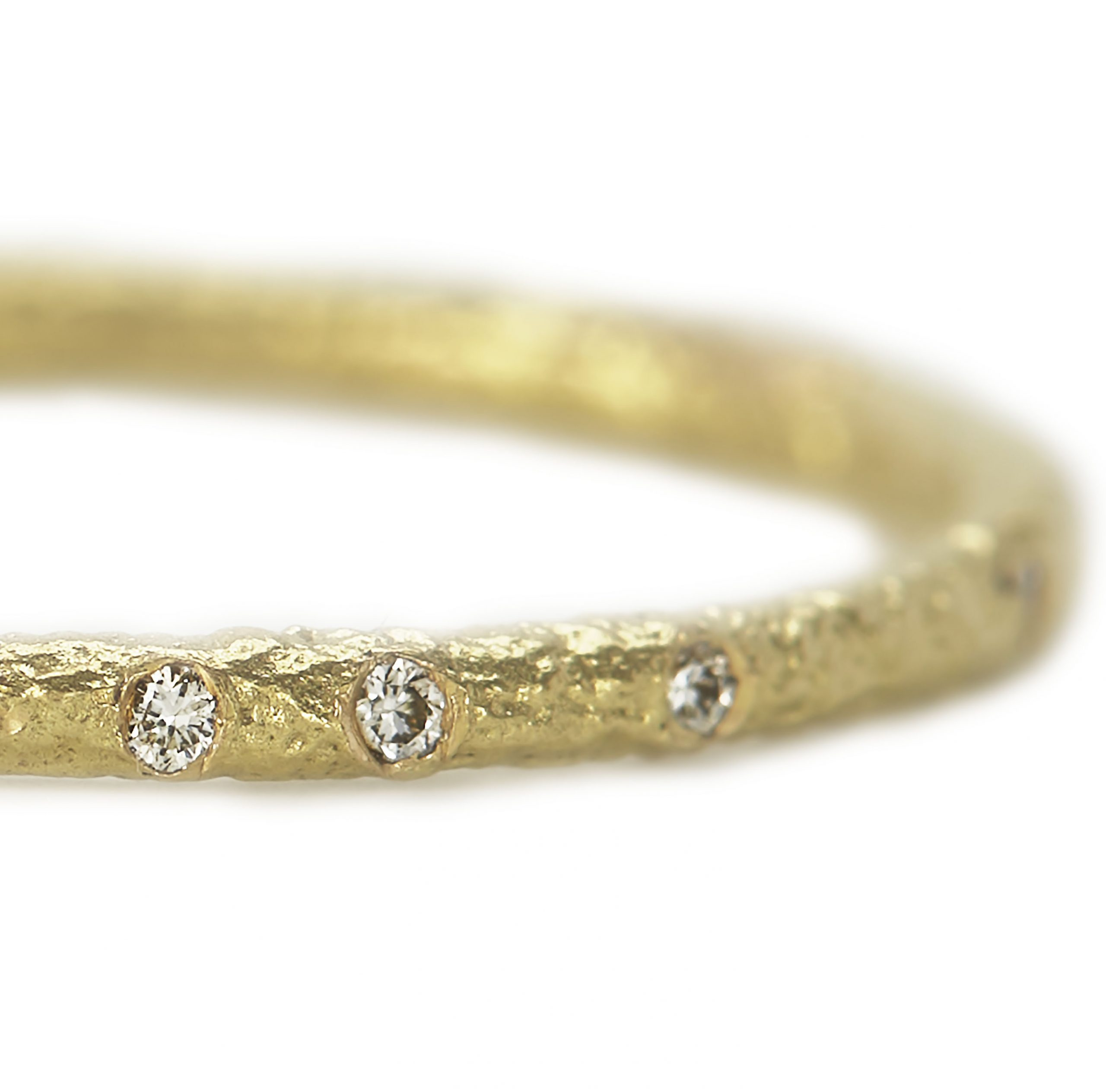 Diamond Scattered Eternity Ring – White Diamond, 18ct Yellow Gold