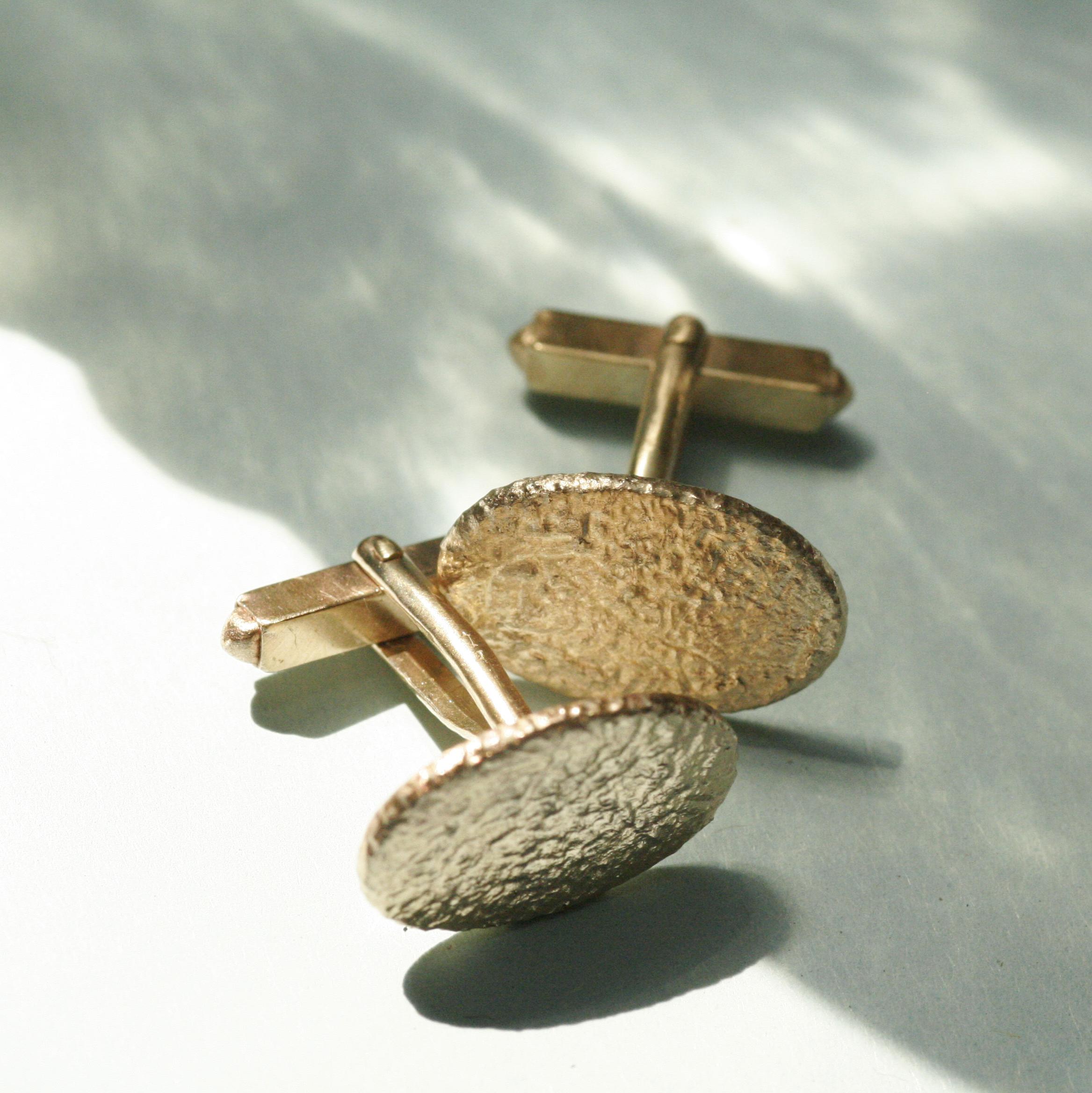 Gavroche 9ct Gold Cufflinks
